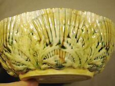 Etruscan Majolica Seaweed & Shell Bowl M6 c.1880's