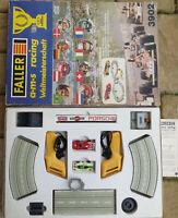Faller Ams 3902 Pacchetto Completo con 2 AFX Auto in Conf. Orig.