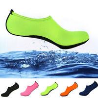 Mens Womens Water Aqua Shoes Beach Swim Exercise Quick-Dry Slip On Diving Socks