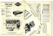 PHILCO  -  M-5702  MOPAR 848   AUTO RADIO  SERVICE MANUAL  ORIGINAL BOOK