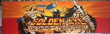 "Golden Axe The Revenge of Death Adder Arcade Marquee 26""x8"""