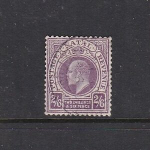 SOUTH AFRICA NATAL 1902 KEVII 2/6d FINE USED