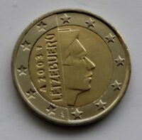 LUXEMBOURG - 2 € Euro circulation coin 2003 or 2004 UNCIRCULATED COIN