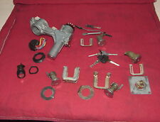 Volvo 1992 240 WAGON Lock Set. 6-Locks coded to the same key. Clean complete set