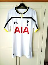 Tottenham Hotspur Home Shirt 2014. Medium. Official UA White Adults Top Football