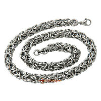 Silver Stainless Steel Chain Maille Mail Chainmaille Necklace Chainmail Link