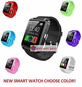 Bluetooth Wireless Smart Wrist Watch Phone For Samsung S3 S4 S5 S6 Edge S7 S8