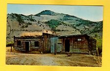 Bannack,MT Montana, First Territorial Capital, First building was Jail