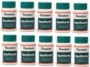 10 Bottles Himalaya Geriforte Tablets - Exp 2023