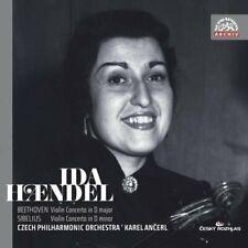 Ida Haendel; Cpo; Ancerl - Beethoven; Sibelius (NEW CD)