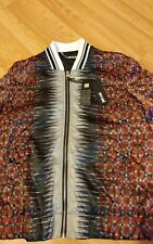 Just Cavalli Ladies Bomber Jacket S03AM0170 Genuine IT46/UK 12~14