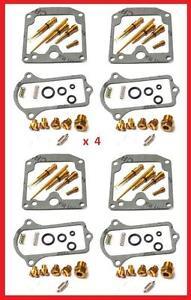 TMP Kits de réparation de carburateur x4 KAWASAKI KZ 650 C Custom Series 1777-79