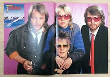 BRAVO POSTER ABBA - UKW - NDW - 80er Jahre !!!