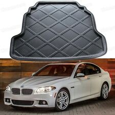 Black Car Rear Trunk Mat Cargo Boot Liner Tray for BMW 5-Series 2009-2015 F10