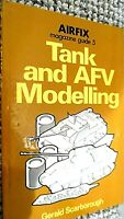 AIRFIX MAGAZINE GUIDE #5: TANK AND AFV MODELLING / Gerald Scarborough (1975)