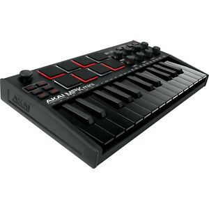 Akai MPK Mini MK3 25 Keys Keyboard Controller - Black