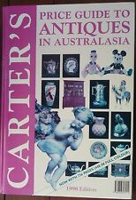 Carter`s Price Guide to Antiques in Australasia 1998 Edition Hardback VGC
