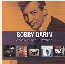 BOBBY DARIN 5 CD set Twist - Copa - Teenagers - Love Swings  - Two of A Kind