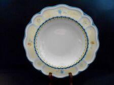 "Lenox Provencal Blossom Pattern 6 Soup/Pasta Bowls 9 1/2"" Unused Displayed w2s9"