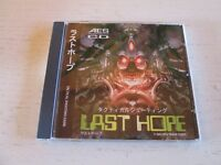 LAST HOPE (Neo-Geo CD). Mint & Complete. Authentic NG:Dev Team Release.
