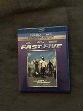 Fast Five (Blu-ray/DVD, 2011, 2-Disc Set, Rated/Unrated Includes Digital Copy)
