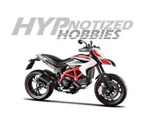 MAISTO 1:12 2013 DUCATI HYPERMOTARD SP WHITE & RED 13015WH
