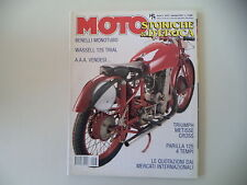 MOTO STORICHE E D'EPOCA 1/1999 PARILLA 125 4T/MORINI 175/TRIUMPH METISSE 500/APE