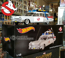 Ghostbusters Cadillac Ecto 1 S.O.S. Fantômes Heritage BCJ75 1/18 Hot Wheels