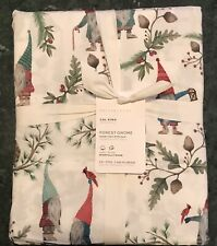 Pottery Barn Forest Gnome Organic Cotton Sheet Set, Cal King, W/$149.00