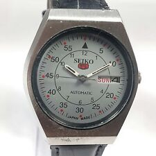 Vintage Seiko Automatic Movement Day, Date Dial Mens Analog Wrist Watch AC508