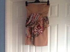 BNWOT Ladies girls Izabel Strapless Dress