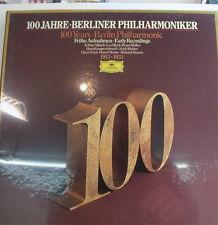 """100 JAHRE BERLINER PHILHARMONIKER FRÜHE AUFNAHMEN IN OVP!! -12""""LP(k473)"""