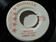 "LINDA LEE VG++ Danger 45 At The Sight Of You 7"" Pinnacle Records"