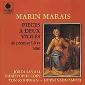 Marin Marais: Pieces a deux violes du premier livre, 1686 (CD, Sep-1989, Astree
