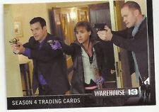 2013 Warehouse 13 Season 4 Premium Pack Trading Cards Promo Card #P1