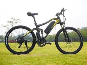 Electric Hybrid Mountain Bike 500W 17Ah Beach Snow Bicycle