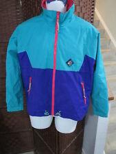 VTG 1990's Woolrich  Womens Windbreaker Light Jacket Size M Multi Color Retro