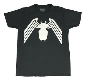 Marvel Men's T Shirt Venom Logo Original Polyester Workout Graphic Tee