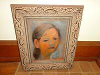 Suk Shuglie Oil on Canvas Painting of a Female, Signed