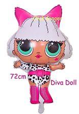 LOL Surprise Diva Doll Foil Balloon Helium Quality Large 72cm Party Decoration