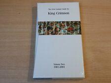 MINT & Sealed ! King Crimson/21st Century Guide Volume 2 1981-2003/4x CD Box Set