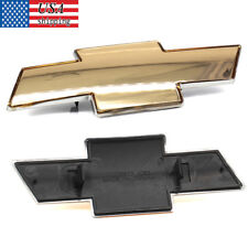 CHEVY SILVERADO SUBURBAN TAHOE GRILLE EMBLEM NEW FRONT GRILL GOLD BADGE Logo