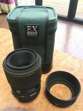 Sigma 105mm f/2.8 EX Macro Lens - Canon Mount