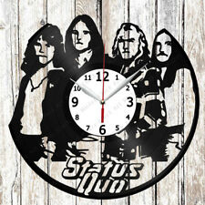 Status Quo Vinyl Wall Clock Made of Vinyl Record Original gift 2465