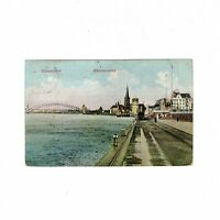 AK Ansichtskarte Düsseldorf / Rheinansicht - 1909