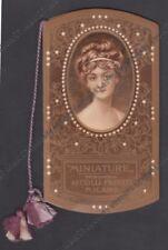 CALENDARIETTO AI COLLI FIORITI 1909 MINIATURE Cartol. DE MAGISTRIS MI - PERFETTO