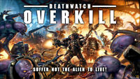 GAMES WORKSHOP - WARHAMMER 40K: Deathwatch Overkill - New Factory Sealed
