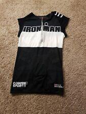 Men's Small Compressport Triathlon Tri Tank top Sleeveless Singlet Iron Man