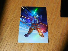 1996 Star Wars Finest - Refractor Holochrome Parallel Gold Card # 13 - Antilles