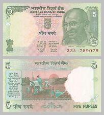 Indien / India 5 Rupees 2002 p88Aa unz.